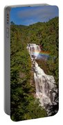 Rainbow Over Whitewater Falls Portable Battery Charger