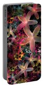 Rainbow Petals Portable Battery Charger