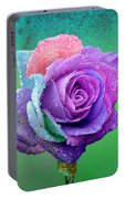 Rainbow Rose Portable Battery Charger