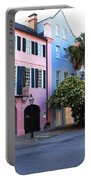 Rainbow Row Charleston Portable Battery Charger