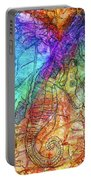 Rainbow Seahorse Portable Battery Charger