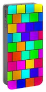 Rainbow Tiles Portable Battery Charger
