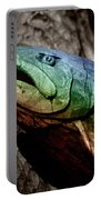 Rainbow Trout Wood Sculpture Portable Battery Charger