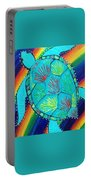Rainbow Turtle Portable Battery Charger