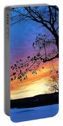 Rainbowed Sunrise Portable Battery Charger