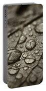 Raindrops #1 Portable Battery Charger
