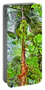 Rainforest Green Portable Battery Charger