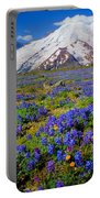 Rainier Lupines Portable Battery Charger