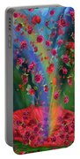 Raining Roses 2 Portable Battery Charger