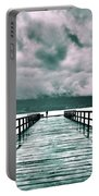 Rainy Days In Summerland 2 Portable Battery Charger