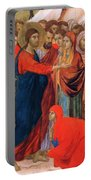 Raising Of Lazarus Fragment 1311 Portable Battery Charger