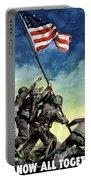 Raising The Flag On Iwo Jima Portable Battery Charger