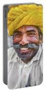 Rajput High School Teacher - Paint Portable Battery Charger