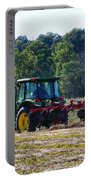 Raking The Hay Portable Battery Charger