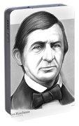 Ralph Waldo Emerson Portable Battery Charger