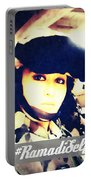 Ramadi Selfie Portable Battery Charger by Michelle Dallocchio