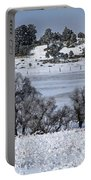 Ranch Land Sun And Shadows Portable Battery Charger