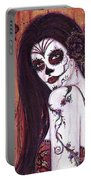 Ranita Day Of The Dead Portable Battery Charger