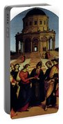 Raphael Marriage Of The Virgin Portable Battery Charger