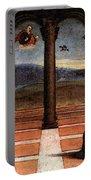 Raphael The Annunciation  Oddi Altar Predella  Portable Battery Charger