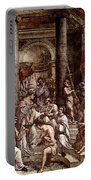 Raphael The Baptism Of Constantine Portable Battery Charger