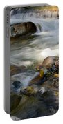 Rapids And Boulders Portable Battery Charger