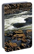Rapids And Rocks Portable Battery Charger
