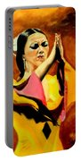Raquel Heredia - Flamenco Dancer Sold Portable Battery Charger