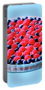 Raspberry And Blueberry Tart Portable Battery Charger