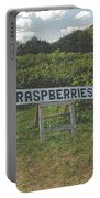 Raspberry Fields Three Portable Battery Charger