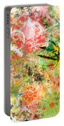 Rasta Flowers Portable Battery Charger