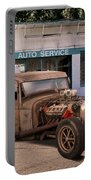 Raunchy Rat Rod Pickup Portable Battery Charger