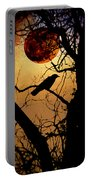 Raven Moon Portable Battery Charger by Bill Cannon