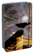 Ravens Night Portable Battery Charger