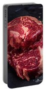 Raw Beef Steak Portable Battery Charger