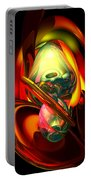 Raw Fury Abstract Portable Battery Charger