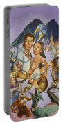 Ray Harryhausen Tribute Seventh Voyage Of Sinbad Portable Battery Charger