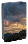 Rays Above Tecate Peak Portable Battery Charger