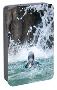 Rear View Penguin Portable Battery Charger