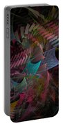 Reason And Virtue - Fractal Art Portable Battery Charger