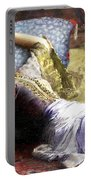 Reclining Odalisque Portable Battery Charger