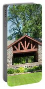 Recreation Shelter In Forest Park Portable Battery Charger