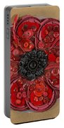 Recycled Poppy Portable Battery Charger