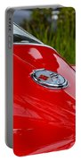 Red 63 Vette Portable Battery Charger