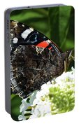 Red Admiral - Underside Portable Battery Charger