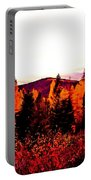 Red   Adventure  Portable Battery Charger