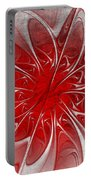 Red And Black  -f D- Portable Battery Charger