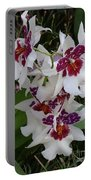 Red And Purple Orchids Portable Battery Charger