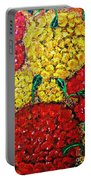 Red And Yellow Garden Portable Battery Charger