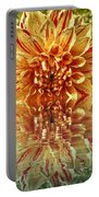 Red And Yellow Reflection Portable Battery Charger